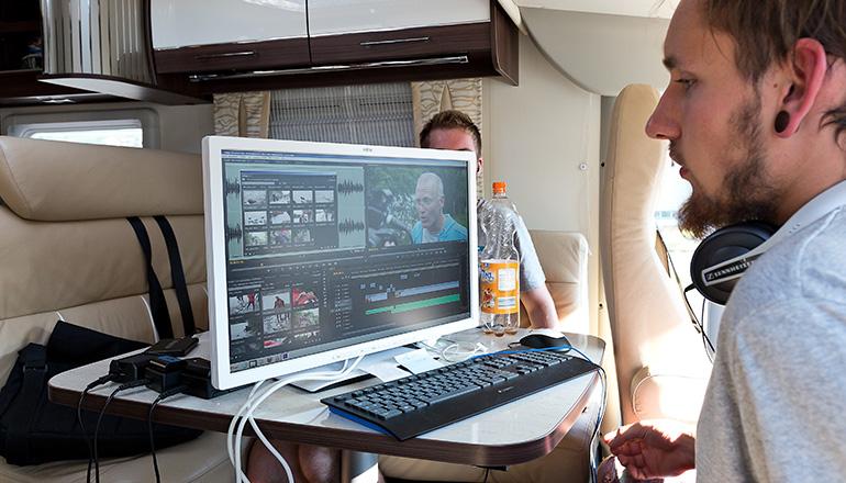 Team Video in Einsatz